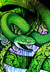 Green Cat Snake
