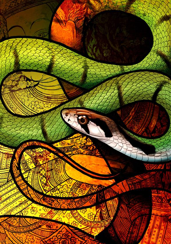 Green Keelback