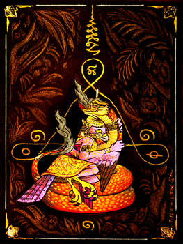 Naga And Garuda