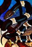 Banded Wolf Snake
