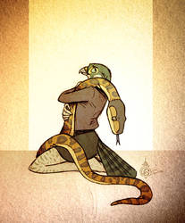 Plush Python by Culpeo-Fox