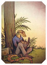 The Loner by Culpeo-Fox