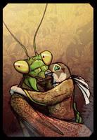 Mantis And Peregrine by Culpeo-Fox