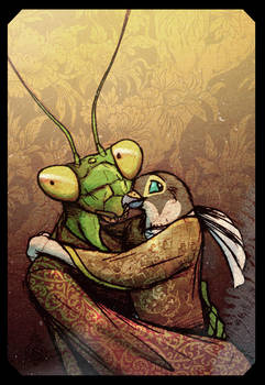 Mantis And Peregrine by Culpeo-Fox