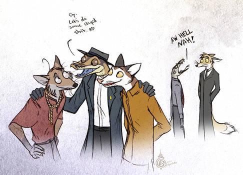 Up To No Good by Culpeo-Fox