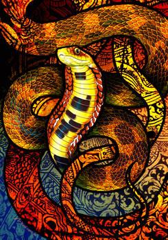 Large-Eyed Bamboo Snake