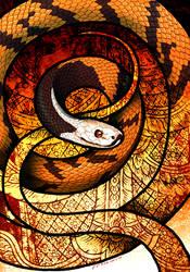 Malayan Slug Snake