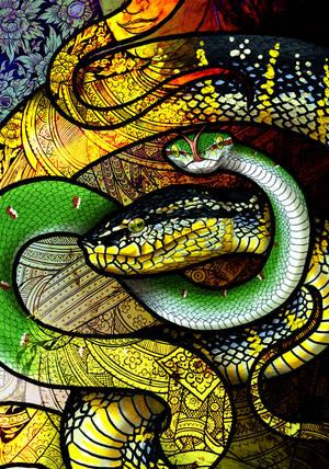 Wagler's Pit Viper by Culpeo-Fox