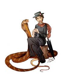 Mary Poppins And The Hamadryad