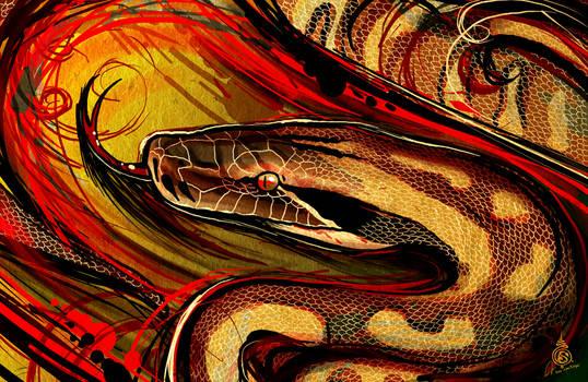 The Blood Python