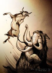 The Mammoths And The Auerochs
