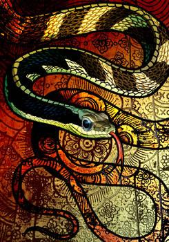 Sawtooth-Necked Bronzeback