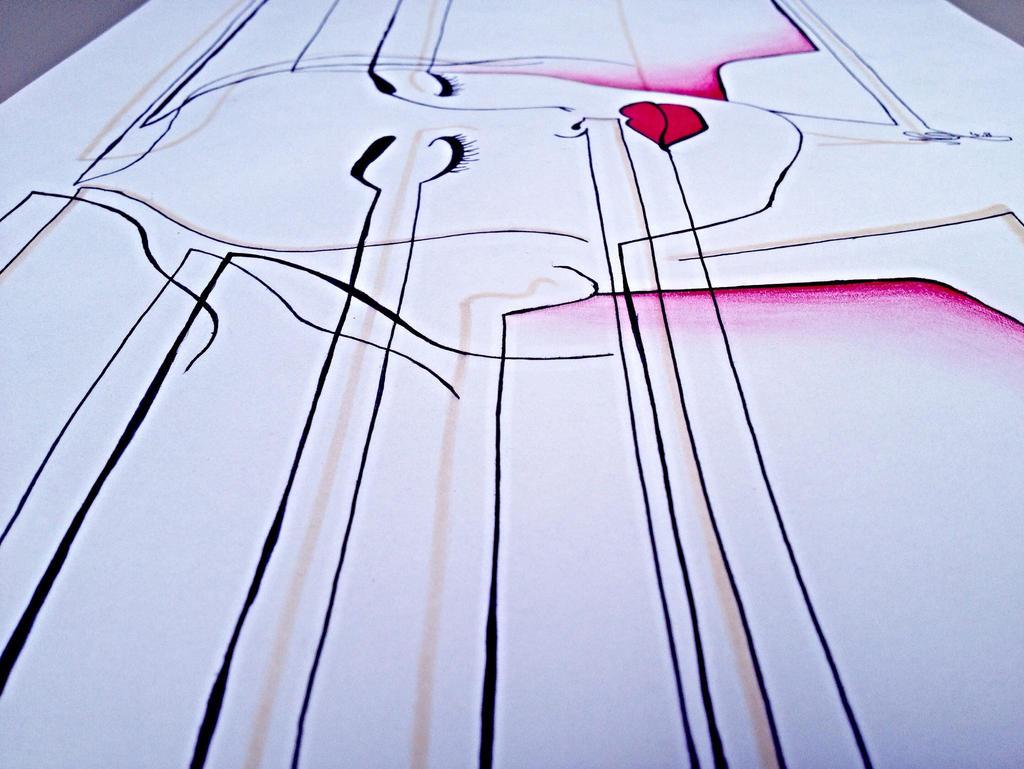 The Line Art Walk London : Walk the line by nadine on deviantart