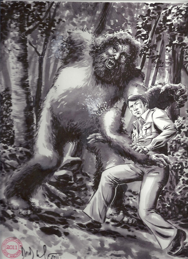 Dave Wachter and Sasquatch by LittleJohn312