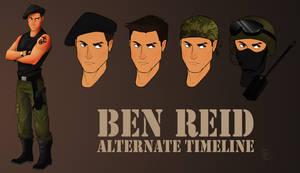 Ben Reid: Alternate Timeline by WesternSpice
