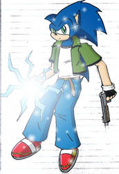 CHAOS - Sonic by Spiner Storm