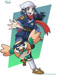 The new Female Protagonist[Pokemon Legends Arceus] by TheArtistMouse
