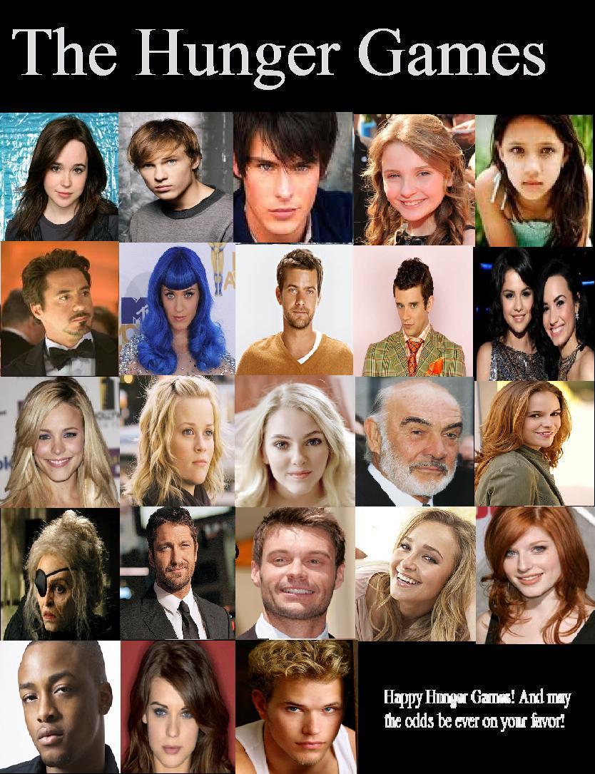 Hunger Games Cast For Book 1 by adorkableXbabyXwhale on DeviantArt