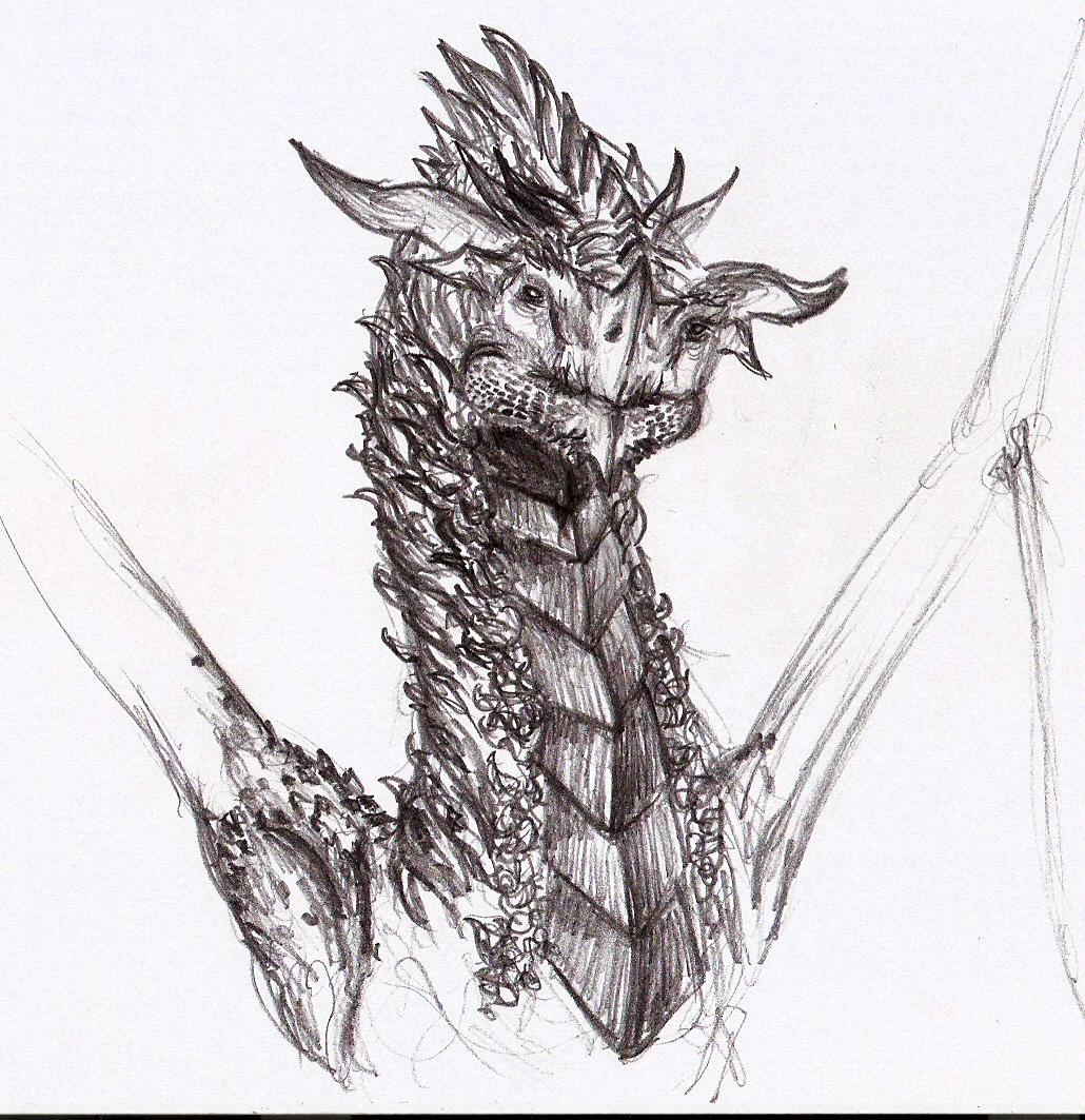 dragon head by eytaneylul on DeviantArt