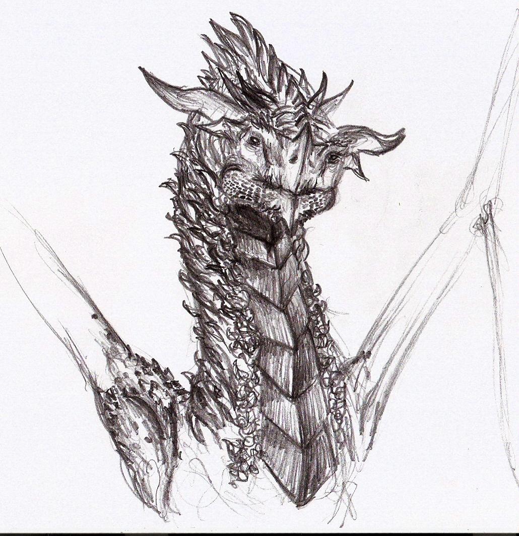 dragon head by eytaneylul on DeviantArt