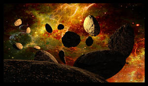 Asteroids Framed