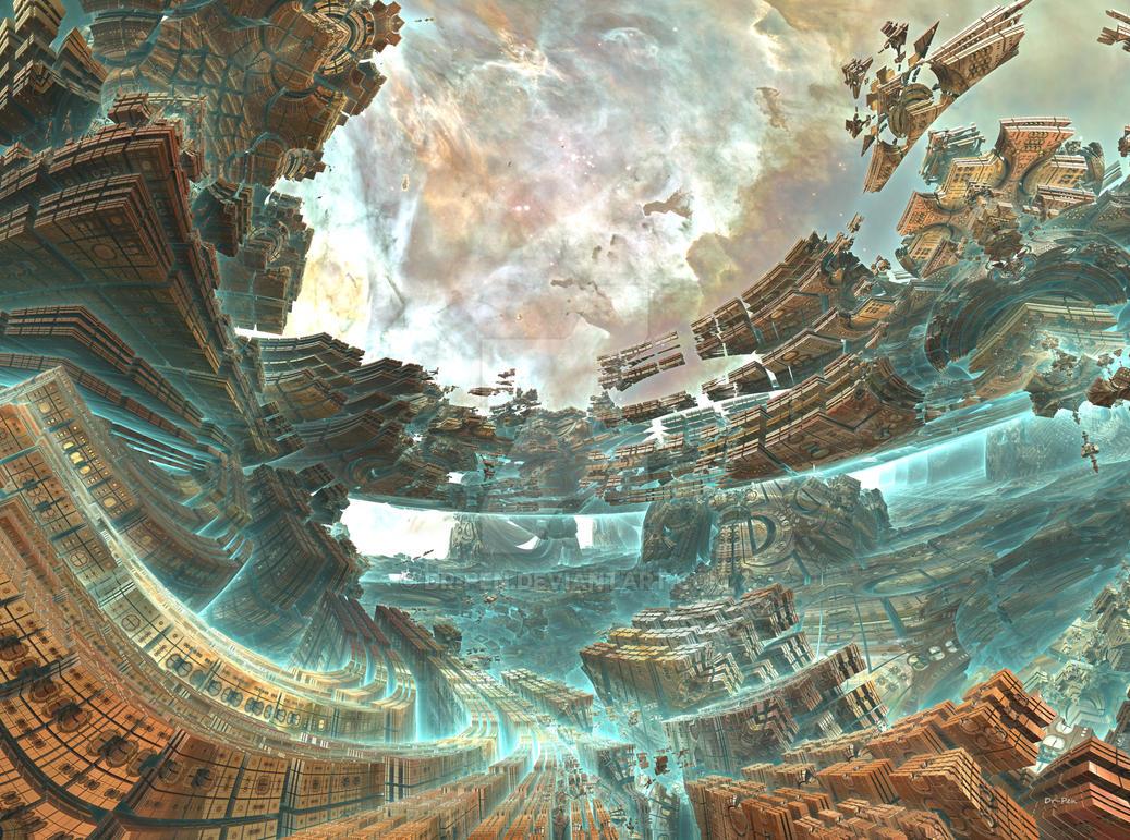 Aqua Spaceshipyard by Dr-Pen
