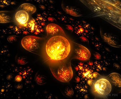 Galaxies of Flame