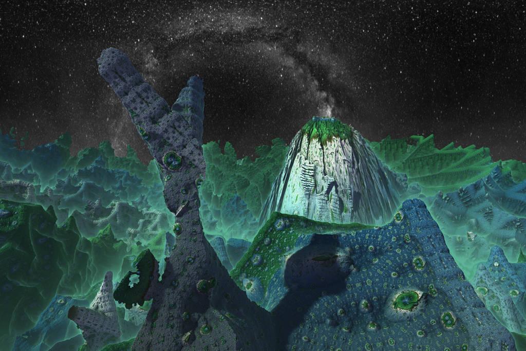 Pong 3 - Dark Alien World by Dr-Pen