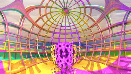 Pastel Cage