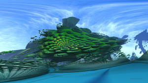 Green Ocean Liner by Dr-Pen