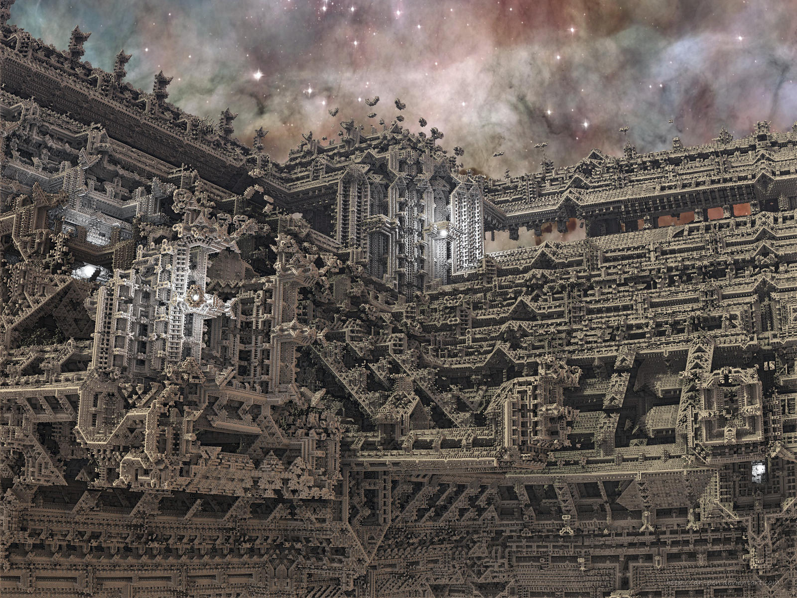 Angkor Wat in Space