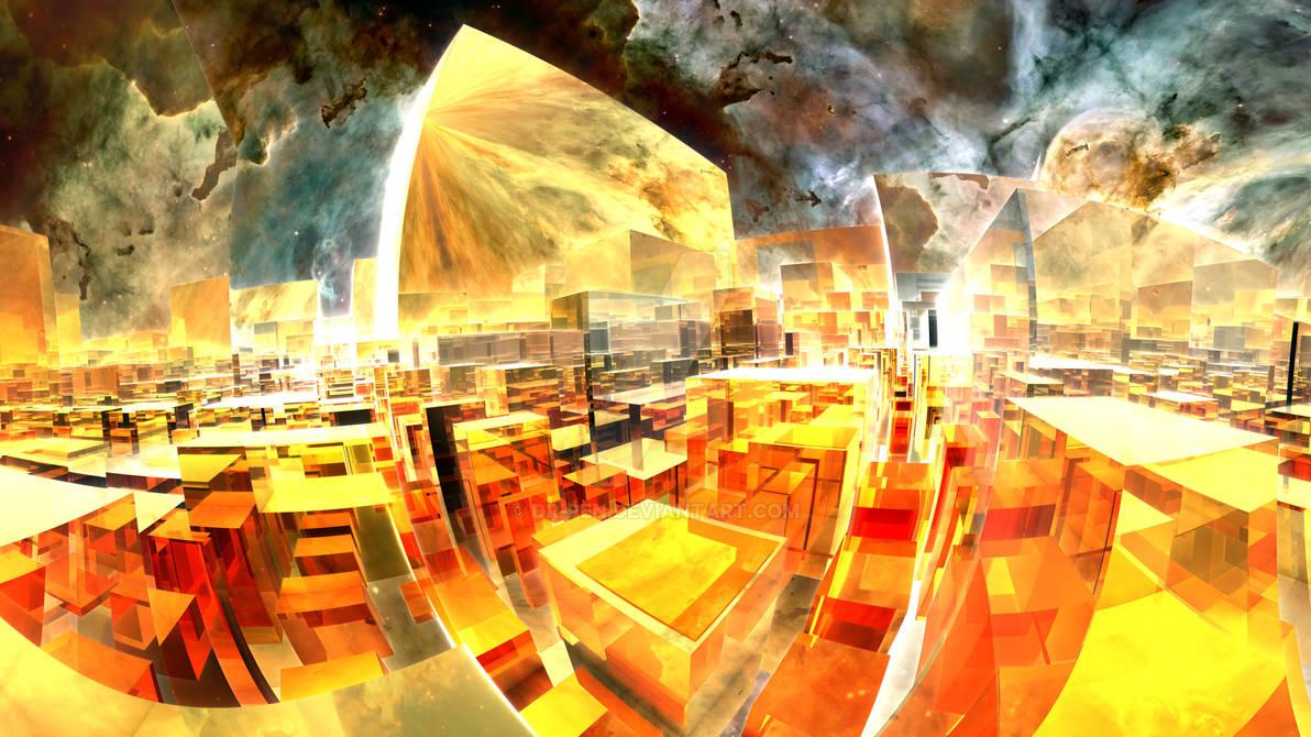 Space Cloud City