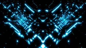 Tron Tunnels Wallpaper