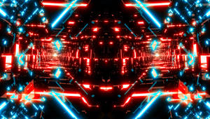 Tron Tunnels Wallpaper no2