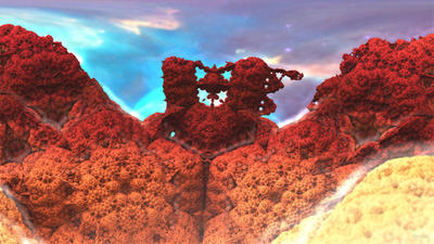 Daily Fractal Wallpaper no3 - Coral by Dr-Pen