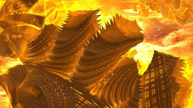 Daily Fractal Wallpaper no10 - Magma Waves