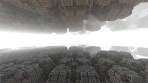 Daily Fractal Wallpaper no15 - Ruins in the Mornin by Dr-Pen