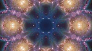 Vivid Space Mandala