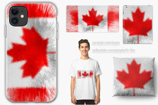 Extruded Flag of Canada