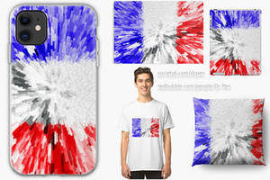 Extruded Flag of France
