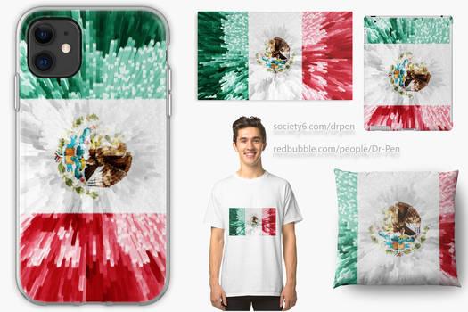 Mexican Flag Extrude dA feature