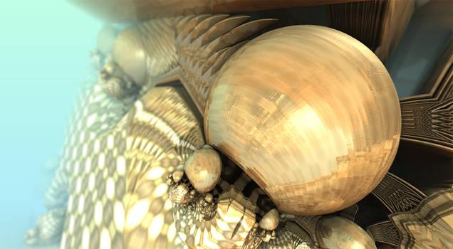 Bronze Globes TA Batjorge