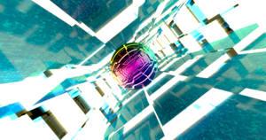 Rainbow Ball 4k Wallpaper