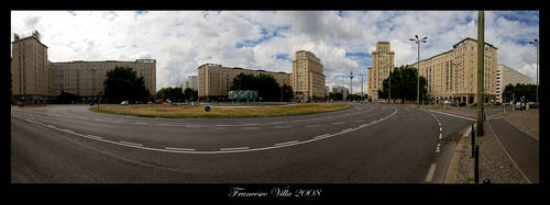 Berlin - Strausberger Platz by francescovilla