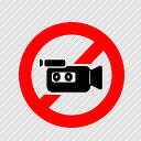 a cool 'no video' icon 128x128 by Banzone