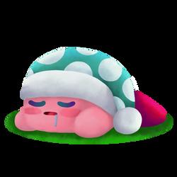 Lineless Sleep Kirby