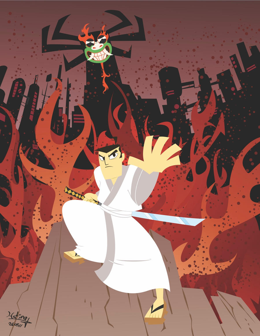 Samurai Jack by SuperOotoro