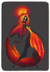 Fire Queen by SuperOotoro