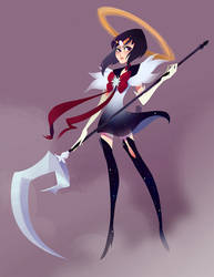 Sailor Saturn by SuperOotoro