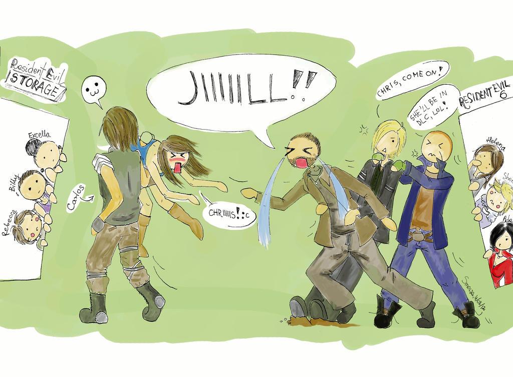 Resident Evil 6: No Jill by Smocza